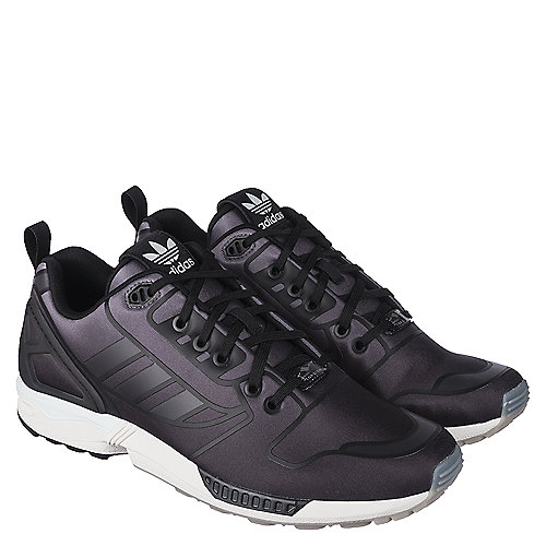 03d4a39109b1e adidas. Black White Men s Athletic Running Sneaker ZX Flux