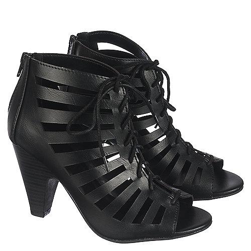 Delicious Richelle-S Women s Black Low Heel Dress Shoes  cc0da941a
