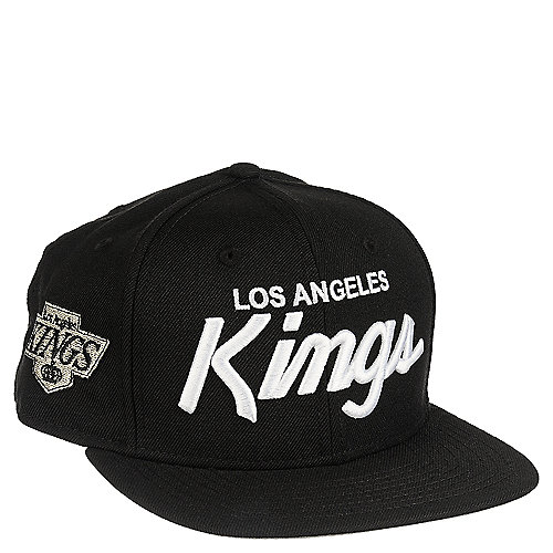 New Era Los Angeles Kings Black Snapback Hat  c773ab05490