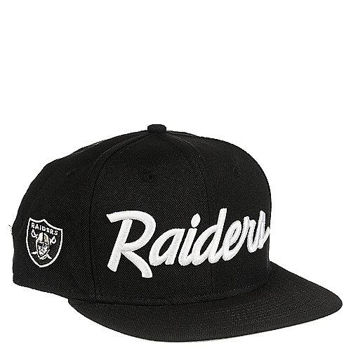 New Era Oakland Raiders Black Snapback  57ac6818241