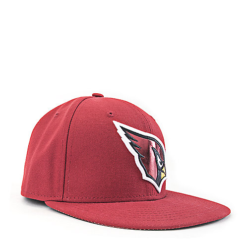 arizona cardinals fitted cap red shiekh shoes. Black Bedroom Furniture Sets. Home Design Ideas
