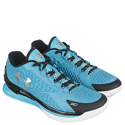 4b439353fa5 Under Armour Light Blue Black Men s Athletic Basketball Sneaker Curry Low