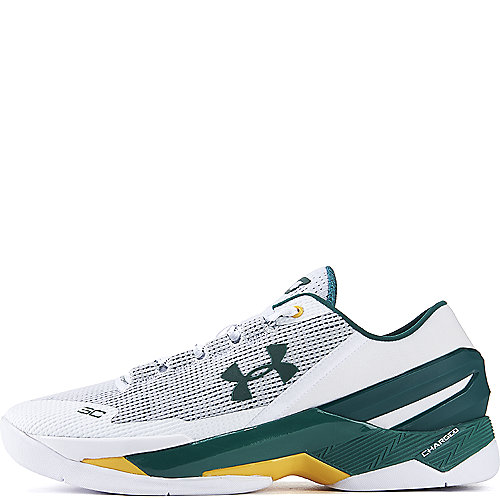 White Green Men s Curry 2 Low Athletic Basketball Sneaker d376a134a3f2