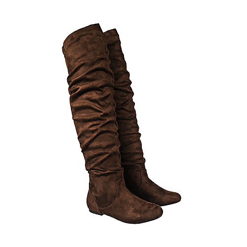 0890c3561ef4 Brown Women s Vickie HI Knee-High Pocket Boot