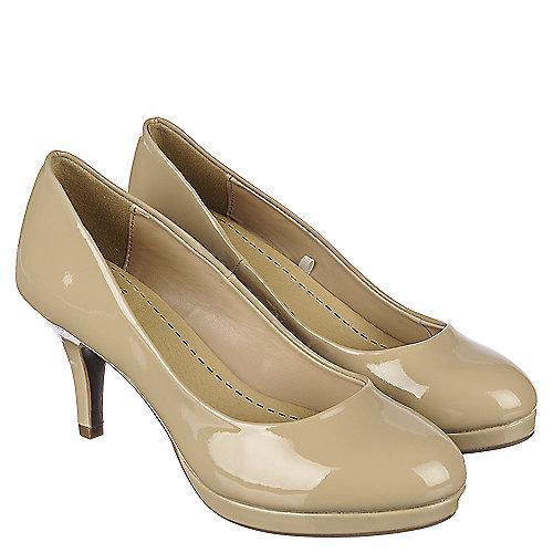 6a9f35d9f7c3 Shiekh Andi-H Women s Beige Low Heel Dress Shoe