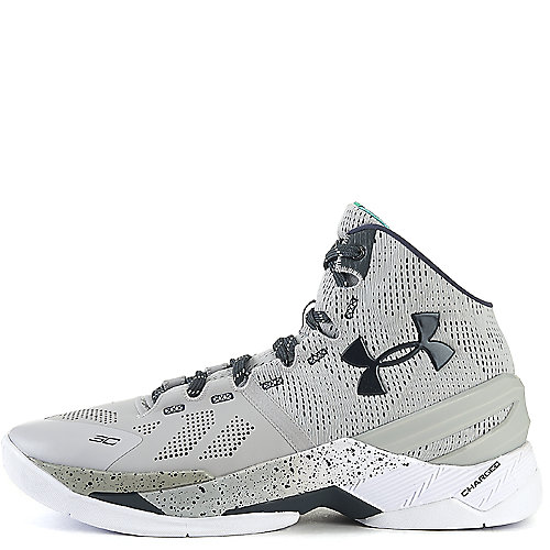 66b1ccd08677 Grey White Black Men s Athletic Basketball Sneaker Curry 2