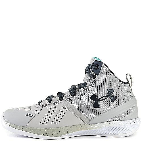 7732cba86303 Grey Black White Kid s Basketball Sneaker Curry 2