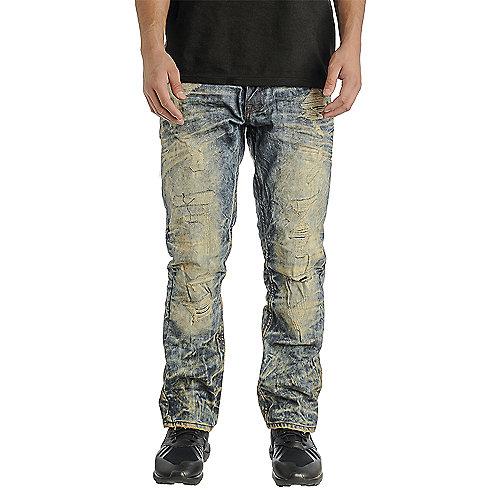 Jordan Craig Collins Fit Men S Blue Jeans Shiekh Shoes