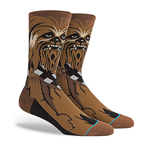 Stance Stars Wars Collection Chewie Socks - Stars Wars Collection Chewie Socks Brown Shiekh Shoes