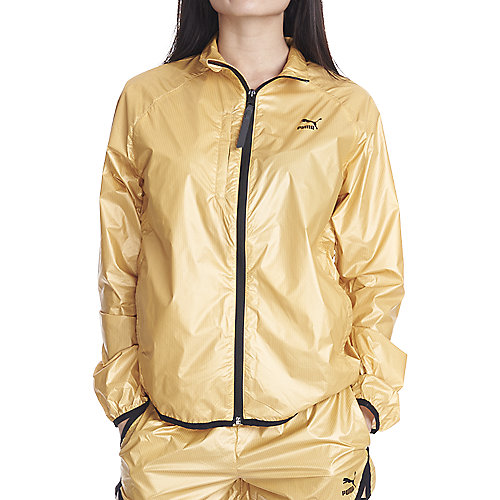 Women's Windrunner Jacket Gold | Shiekh Shoes