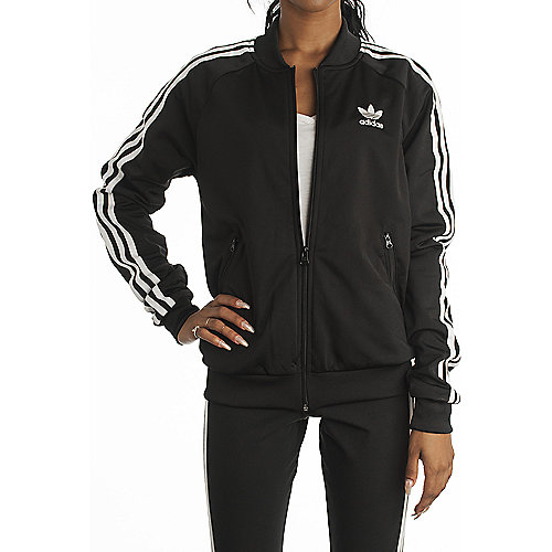 225023adb1e8 adidas. Black White Women s Superstar Track Jacket