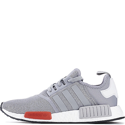 f70a41ae25822 adidas. Grey White Red Men s NMD Runner Athletic Lifestyle Sneaker