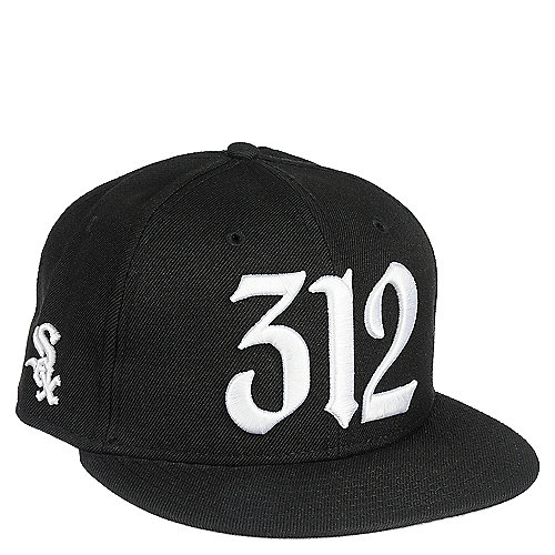 6dc513b1033 New Era 312 Areacode Men's Black Fitted Hat