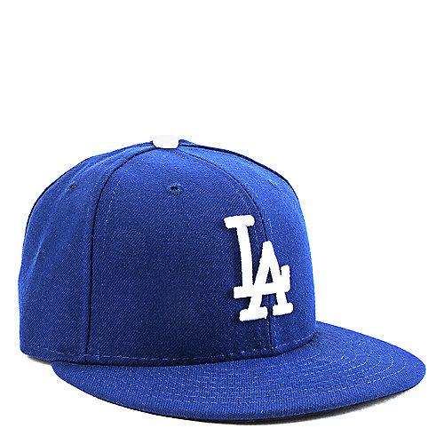 New Era LA Dodgers Men s Blue Fitted Cap  a1e2e25bf502