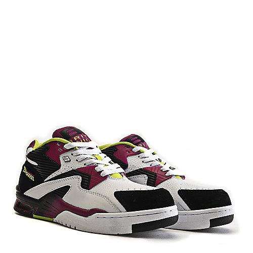 a605bfa154db British Knights White Purple Black Men s Athletic Basketball Sneaker  Control Mid