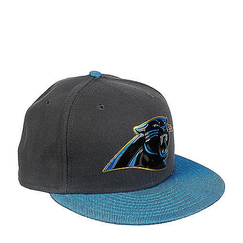 New Era Caps Carolina Panthers Grey Fitted Cap