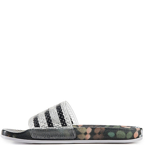 a81a9b196 adidas. Multi-Color Women s Adilette Slides Slip On Sandal