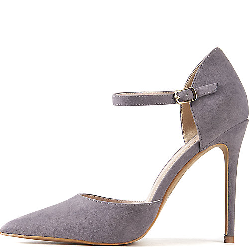 Grey Ladies Shoe Republic La Leslie Pump