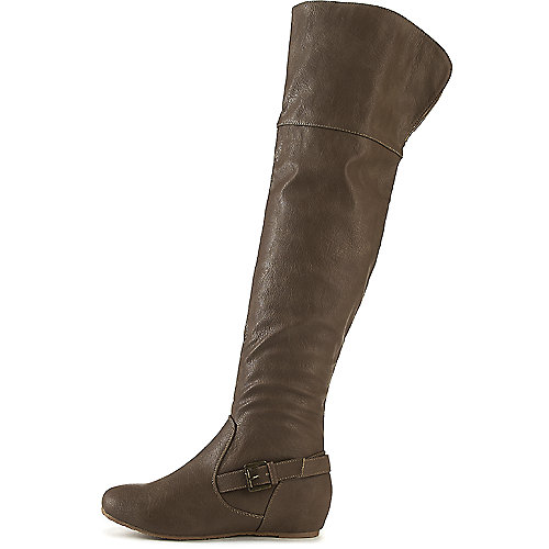 f84b2a7fe64 Women s Candies-159 Thigh-High Boot Taupe