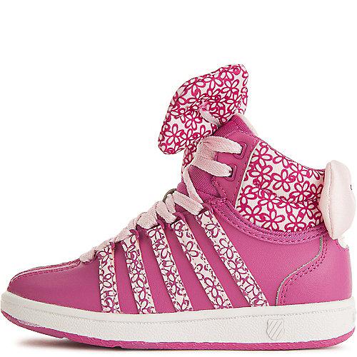 K-Swiss Pink Kid s Classic VN Mid Sneaker 8bd558a91fe
