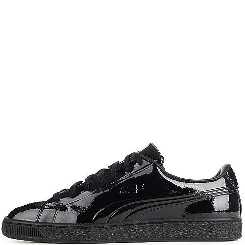 62f3d9fe0c118d Puma Black Men s Basket Classic Patent Emboss Casual Sneaker