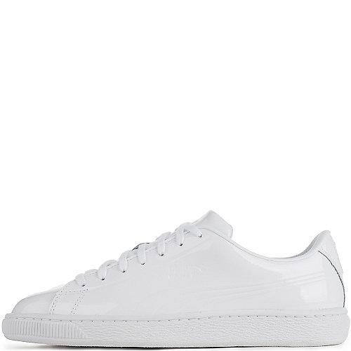 f8597f4ebeb17a Puma White Men s Basket Classic Patent Emboss Casual Sneaker