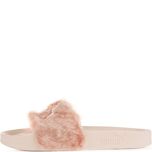 7ad10a327ef Puma Pink Women s Rihanna Leadcat Fenty Slip On Sandal