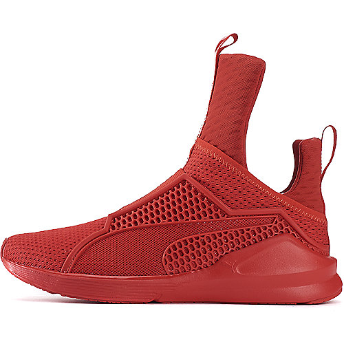 aa637311d01a RISK RED Women s Fenty Trainer Athletic Sneaker