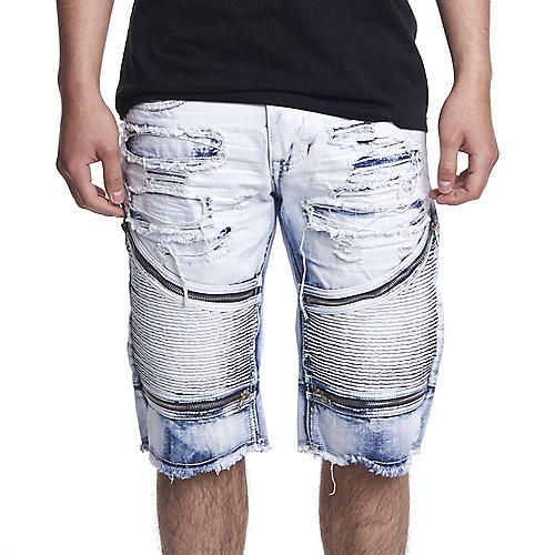 Smoke Rise Men's Twill Moto Shorts