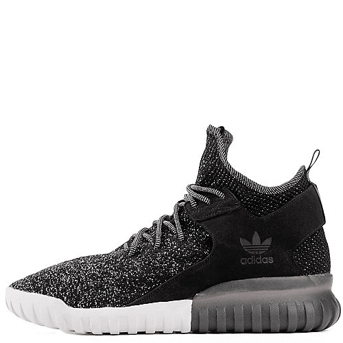 87d09c6a58ef adidas. Black White Men s Tubular X PrimeKnit Athletic Running Sneaker