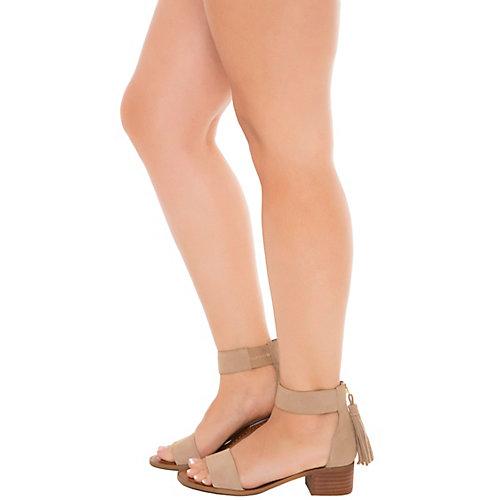09a6fbcaa25 Steve Madden Taupe Women s Darcie Low Heel Sandal