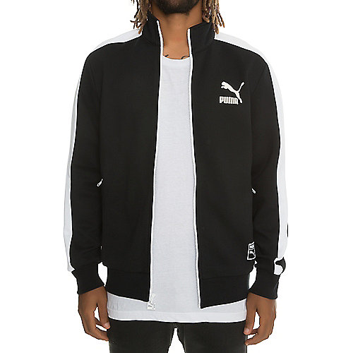 55668ce3618e Puma Black White Men s T7 Track Jacket