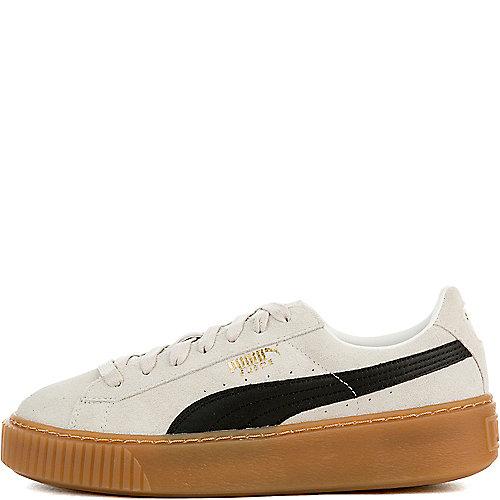 ea9e12e1442d58 WHISPER WHITE GUM Women s Suede Platform Sneaker