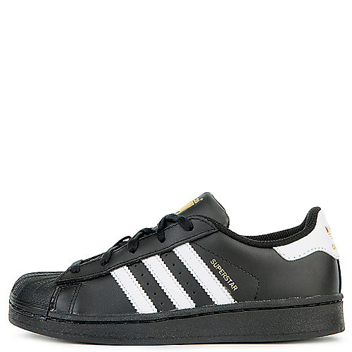 b9f6ce73788bf2 adidas. Black White Kids Casual Sneaker Superstar Foundation