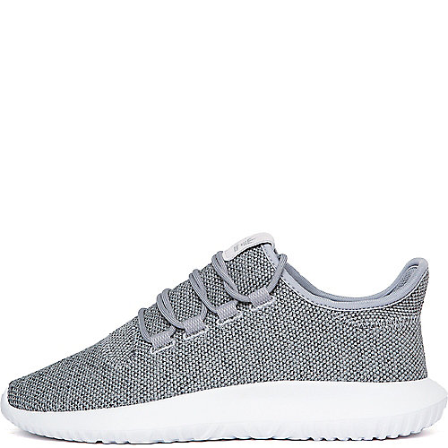 2b099d95f58b adidas. Grey White Women s Tubular Shadow Knit Athletic Lifestyle Sneaker