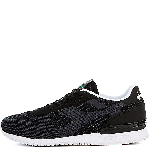 BLACK Men's Titan Weave Sneaker | Tuggl
