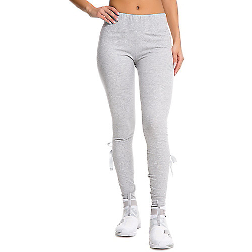 d0a7e8e8ca4b0c Puma GREY Women s Tie Up Bow Leggings