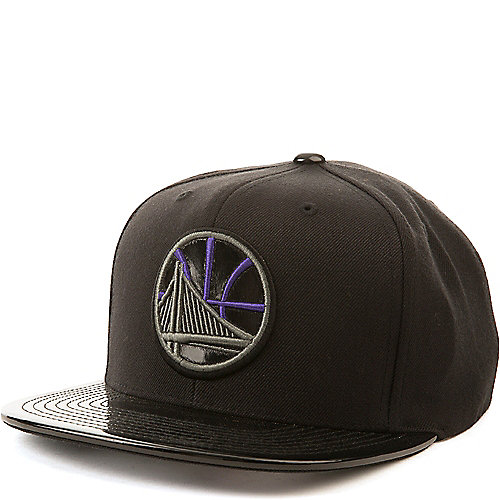Mitchell and Ness BLACK Golden State Warriors Snapback 8c7c383621d4