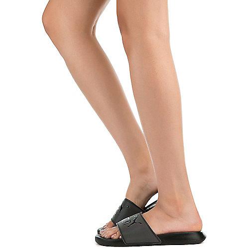 51c9d6d1bd5eb PUMA BLACK Women s Popcat Swan Sandal