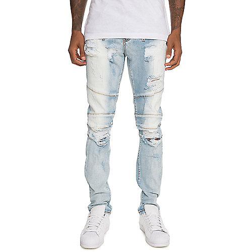 Crysp Denim Men's Montana Ripped Denim Jeans