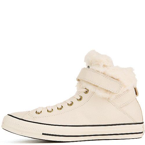 ff9a5402d6a Converse Cream Black Fur Women s Chuck Taylor All Star Casual Sneaker
