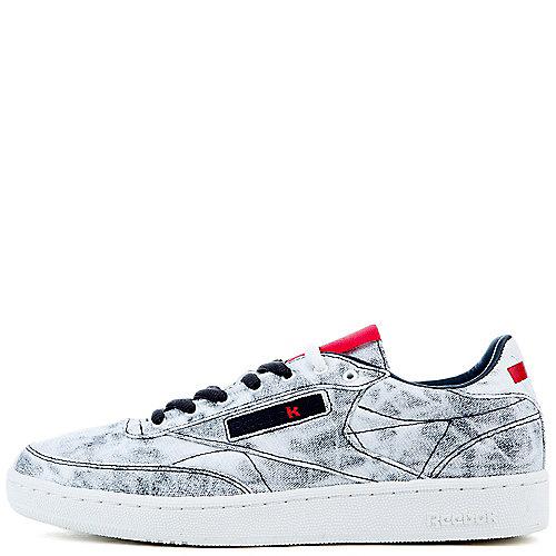 69eafdf6f44a White Black Red Kendrick Lamar x Reebok Classic Club C Lifestyle Sneaker