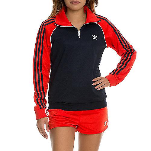 0d813453016f Blk Red Women s Half-Zip Track Jacket