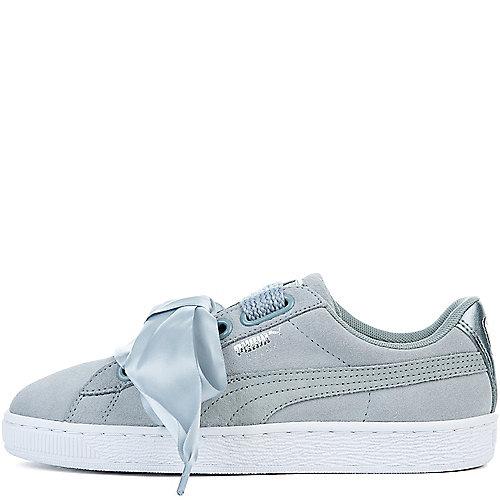 4d7f507a14fe98 Puma QUARRY-QUARRY Women s Suede Heart Safari Sneaker