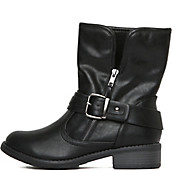 Buy Women\'s Low Heel Boots | Cheap Low Heels Online at Shiekh Shoes