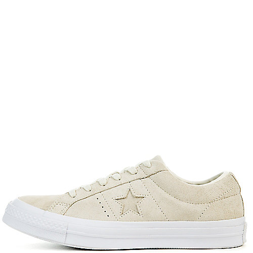 c26049f5aa3c Converse egret egret white Women s One Star Suede Ox Sneaker