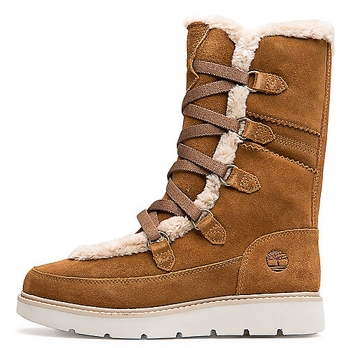 Timberland MEDIEM BROWN SUEDE Women s Kenniston Muk Tall Boot 298774d20a