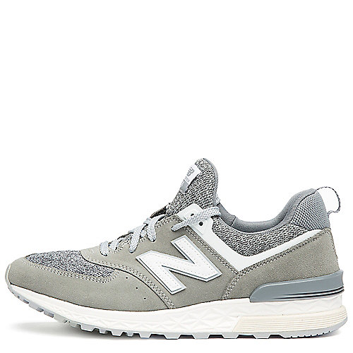 Grey/White Men's 574 Sport Sneaker | Tuggl