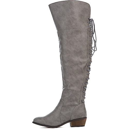 f76a38a071b Breckelle s Grey Women s Dallas-36 Boot