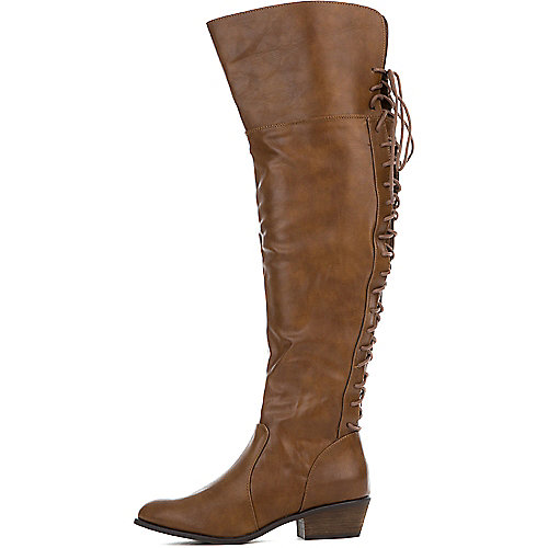 Tan Women's Dallas-36 Boot at Shiekh Shoes in Los Angeles, CA | Tuggl